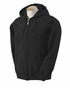 Heavy Blend? 50//50 Full-Zip Hood -CAROLINA B -2XL-12PK G186 Gildan Mens 7.75 oz