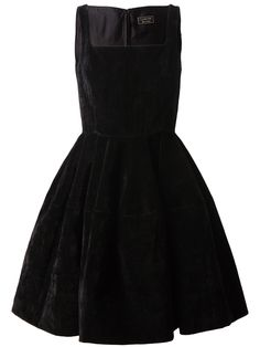 Lanvin structured velvet dress