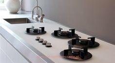 Kookplaten : I-Cooking, Pitt-Cooking - Keukenbladen Rozema maakt alle natuurstenen bladen voor uw keuken en badkamer