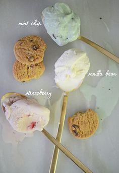 Two-Bite Ice Cream Sandwiches   Cupcakes & Cashmere