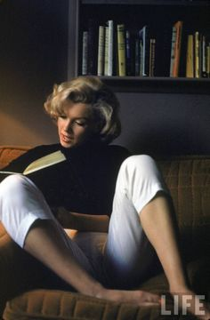 Marilyn Monroe at Home, 1953 by Alfred Eisenstaed