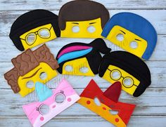 Lego movie set /party favors by MyWonderlandBoutique on Etsy