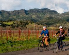 Balloon & Bike Tour  | Explore #Calistoga from above with Calistoga Balloons