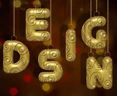 Decorated Gold Metallic Text Effect Posted by textuts | On 17 December, 2013 | In Inspired , Simple  This is another festive holidays-inspired tutorial (font= JUNEGULL)