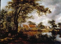 Hobbema,_Meindert_-_Wooded_landscape_with_a_Water-mill_-_Google_Art_Project.jpg (4922×3590)