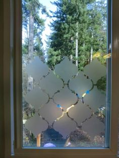Privacy Window Using Contact Paper