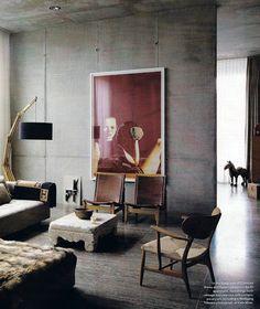 Renée Finberg ' TELLS ALL ' in her blog of her Adventures in Design: Berlin - Concrete Walls