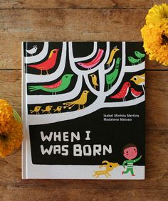 When I was Born: Isobel Minhos Martins Thoughtful children's / toddler book Pre-school learning By Tate publishing