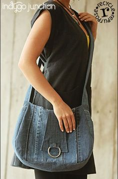 The Side Note Satchel PDF sewing pattern from Indygo Junction