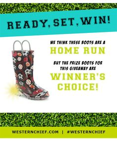 Home Run Giveaway- Win a pair of lighted rain boots! {US}... sweepstakes IFTTT reddit giveaways freebies contests