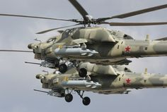 Mi-28N anti-armor attack helicopter is called Night Hunter
