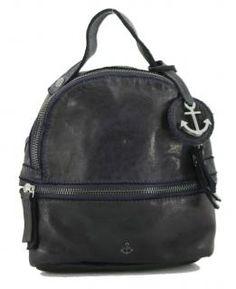!!!Harbour2nd Sissy Anchorlove Navy blau Backpack kleiner Rucksack Vintage Stil, Rind, Backpacks, Bags, Fashion, Small Backpack, Navy Blue, Handbags, Moda