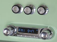 1961-66 Ford F-Series Pickup Huntington Direct-fit Radio