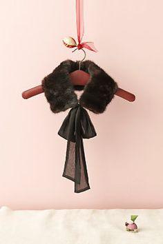 collar on a hanger