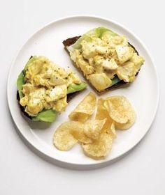 Curried Egg Salad Sandwich recipe