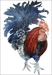 Cockerel by Kerry Buck
