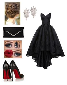 Untitled #193 by codysimpsonforev on Polyvore featuring polyvore, fashion, style, Zac Posen and Christian Louboutin