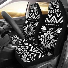 Single Mandala Crafts Black Beige Gray Child Baby Pet Truck SUV Car Leather Cloth Seat Pad Cover Protector