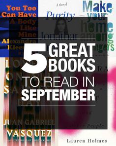 5 Great Books To Read In September