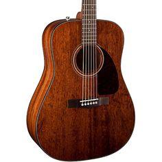 Fender CD-140S All Mahogany Acoustic Guitar Natural