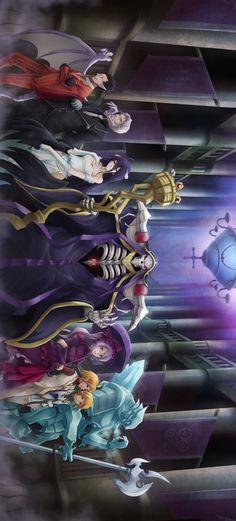Overlord - Best of Wallpapers for Andriod and ios Otaku Anime, Anime Echii, All Anime, Anime Art, Mugiwara No Luffy, Racing Tattoos, Best Disney Movies, Estilo Anime, Albedo