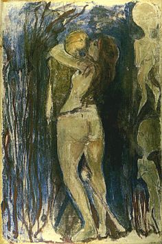 'Death and the Maiden' (1893) by Edvard Munch