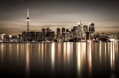 Toronto Cityscape by Peter FK - Photo 15456801 - Scenic Photography, Light Photography, Landscape Photography, Toronto Skyline, Seattle Skyline, City Landscape, Urban Landscape, Ontario, Grands Lacs