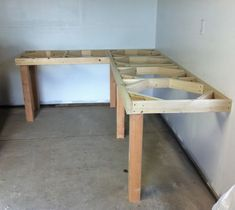 garage corner workbench - Google Search