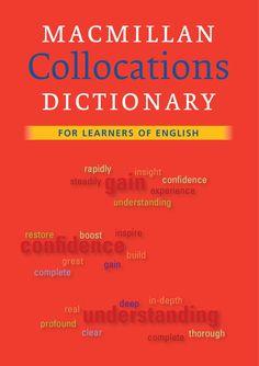 Macmillan Collocations Dictionary slovník anglických kolokací - nejčastěších slovních kombinací a spojení