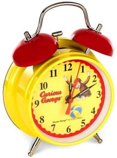 curious george alarm clock