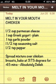 """Melt in your mouth chicken."" Baked. Low Carb Chicken. Simple and sounds so yummy!"