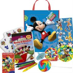 Mickey Mouse Resuable Tote Bag FILLED Party Supplies Canada & Halloween Supplies Canada - Open A Party