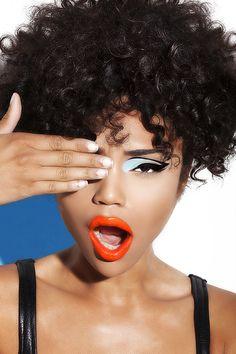 Summer makeup #colorfullips #colorfuleyeshadow