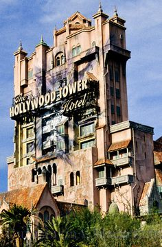 DisneyWorld's Hollywood Studios. Orlando, Tower of Terror! Contact us for your travel to WDW!  http://www.getawaycruiseplanner.com