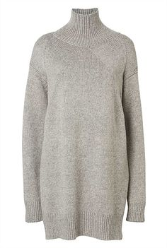 Knitwear - Oversized Funnel Neck Knit