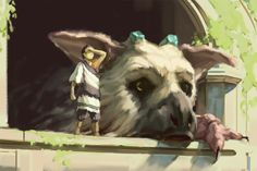 The Last Guardian by eeliskyttanen.deviantart.com on @DeviantArt