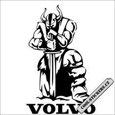Nová samolepka na kamion značky Volvo, možno vyrobit v jakékoliv barvě a rozměru. Lze lepit na sklo, kov, zeď. Cool Stickers, Volvo, Vikings, Darth Vader, Fictional Characters, The Vikings, Fantasy Characters, Viking Warrior