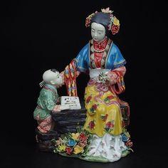 Porcelana de cerámica de arte popular tradicional chino clásicos historia syx012 figurita colección vivid y artesanía elegante para el regalo(China (Mainland))