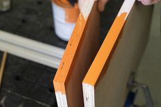 Learn how to smooth out rough edges on plywood quickly and easily to prepare them for a great-looking paint finish. All you need are a putty knife, some sandpaper, and ordinary spackle.
