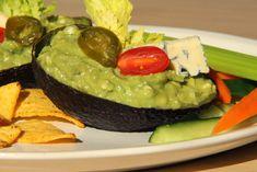 V kuchyni vždy otevřeno ...: Pikantní avokádový dip s modrým plísňovým sýrem