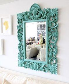 Decorando espejos  