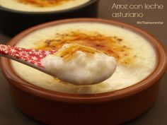 Arroz con leche asturiano - MisThermorecetas Thermomix Desserts, Vegan Desserts, Delicious Desserts, Spanish Desserts, Spanish Dishes, Bakery Recipes, Cooking Recipes, Mexican Food Recipes, Sweet Recipes