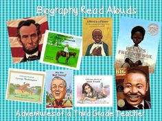 biographies and narrative non-fiction ideas
