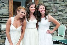 Tori with Aubrey Roloff & Molly Roloff Tori Roloff, Audrey Roloff, Jeremy And Audrey, Little Women La, Roloff Family, Little People Big World, Sister Pictures, 19 Kids And Counting, Brides And Bridesmaids