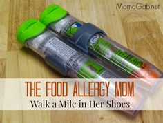 Food allergy mom -- walk a mile in her shoes. This makes really good points! Food allergies are serious. Tree Nut Allergy, Egg Allergy, Peanut Allergy, Peanut Free Foods, Kids Allergies, Allergy Free Recipes, Safe Food, Mom, Asthma