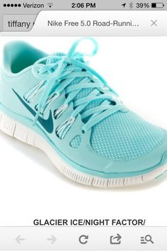 Need  Tiffany blue free runs!