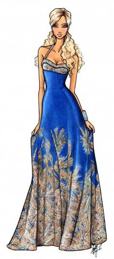 Fashion Illustrations! Little reminder of my Cali life.....