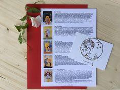 MusenKuss Mondzeit Set (5-teilig) - MusenKuss Joker, Frame, Books, Wild Women, Kiss, Healing, The Moon, Cards, Picture Frame