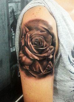 tattoo, dövme, rose rose tattoo