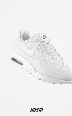 newest e76df 75ee1 Lovely white Nike air max ultra moire